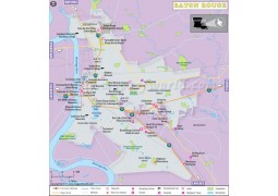 Baton Rouge City Map