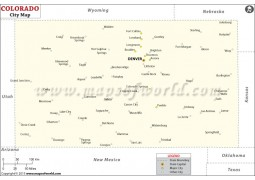 Colorado Cities Map
