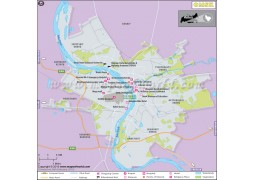 Omsk City Map