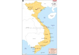 Vietnam Airports map