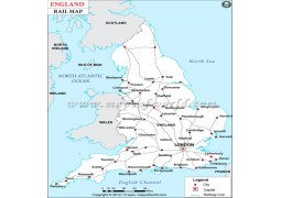 England Rail Map