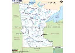 Minnesota River Map