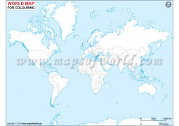 World Outline Map