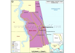 St. Johns County Map